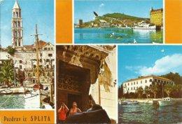 6 Farbfoto-AKs Jugoslawien / Kroatien 1970/1975 #Lot - Jugoslawien