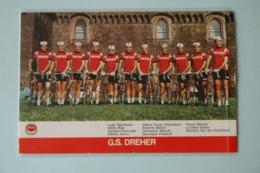 CYCLISME: CYCLISTE : GROUPE DREHER - Ciclismo