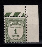 Taxe YV 55 N** Cote 2,50 Euros - Postage Due