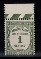 Taxe YV 55 N** Cote 2,50 Euros - 1859-1955 Neufs
