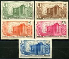 Nouvelle Caledonie (1939) N 175 à 179 * (charniere) - Neukaledonien