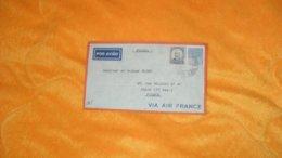 ENVELOPPE ANCIENNE DATE ?../ BRESIL PORTO ALEGRE POUR PARIS..CACHET + TIMBRES X2 - Other