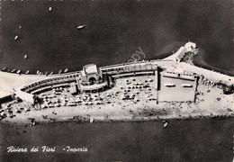 Cartolina Imperia Panorama Aereo 1952 Timbro Profumo Garmella Imperia - Imperia