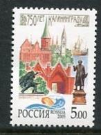 RUSSIA 2005 Anniversary Of Kaliningrad MNH / **.  Michel 1271 - 1992-.... Föderation