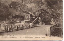 St ZACHARIE - LA SAINTE-BEAUME - Intérieur De La Grotte - Saint-Zacharie