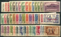 Reunion (1943) N 187 à 232 * (charniere) - Réunion (1852-1975)