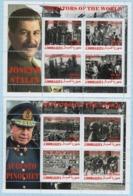Fantazy Labels / Private Issue. Dictators Of The World Hitler, Stalin, Pinochet, Putin 2019. - Vignettes De Fantaisie