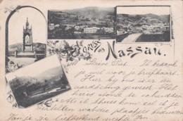 251567Gruss Aus Nassau, (Poststempel 1892)(sehe Ecken Und Kanten) - Nassau