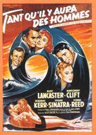 FRI049 Affiche Cinéma TANT QU'IL Y AURA DES HOMMES Burt LANCASTER Deborah KERR Frank SINATRA CLIFT Reproduction NUGERON - Affiches Sur Carte
