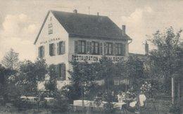 Schlettstadt - Sélestat (67 - Bas Rhin) Restauration Warm Zum Mühlbächel Karl Morlock Inh. Wilhelm Urban - Selestat