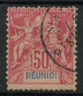 Reunion (1892) N 42 (o) - Réunion (1852-1975)