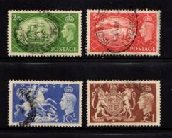 GREAT  BRITAIN    1951    King  George  VI    Set  Of  4    USED - 1902-1951 (Könige)