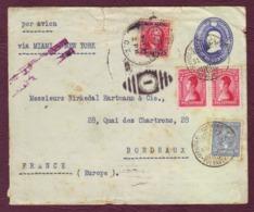 COLOMBIE - Lettre Par Avion BOGOTA Pour BORDEAUX Via Miami - New-York - 31/10/1929 - Colombia