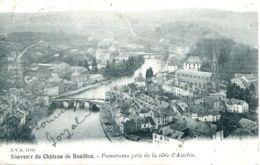 N°76229 -cpa Souvenir Du Château De Bouillon -panorama De La Côte D'Auclin- - Bouillon