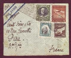 CHILI- Lettre Par Avion Pour PAU (Basse-Pyrénnées) - 1936 - Chile