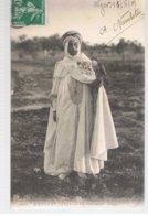 CPA Algérie Un Fauconnier Ecrite En 1909 - Algérie