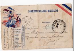 (guerre14-18) Carte De FRANCHISE MILITAIRE   (PPP21000) - Marcophilie (Lettres)