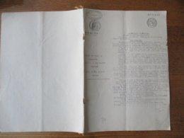 BRASSERIE VENTE DE FONDS DE COMMERCE LE 7 MAI 1946 PAR M. & Mme CARLOT-BOTHY A HOUDAIN A M.& Mme CARLOT-REMY PIERRE BRAS - Manuskripte