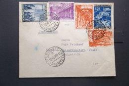 Vatican: 1950 Cover To Kaiserslautern, Deutschland (#YU7) - Covers & Documents