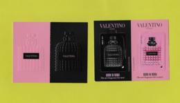 1 Cartes VALENTINO MEN & WOMEN - Duftkarten