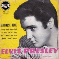 ELVIS PRESLEY - Jailhouse Rock - EP - 45 G - Maxi-Single