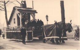 Foto Fotokaart Carte Photo Gierle Processie Stoet ( Praalwagen Met Paarden )  Postkaartformaat (8,5 X 13,5 Cm) - Lille