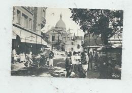 Paris 18 ème Arr (75) : MP D'un Peintre De La  Place Du Tertre à Montmartre En 1950 (animé) PF. - District 18