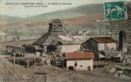 Mines, Mine : Sainte Foy L'Argentière - (69) Rhône - Le Puits De L'Argentière - Vue Prise De La Ficelle - Francia