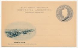 """ARGENTINE - Entier Postal / Carte Postale 6 Centavos """"MUESTRA"""" - Puerto Madero - Dique N°1 - Ganzsachen"""