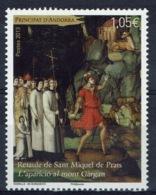 Andorra (French Adm.), Altarpiece, Sant Miquel De Prats, 2013, MNH VF - Unused Stamps