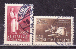 Finlandia 1943 -Pro Soccorso Nazionale  -Serie Completa Usata - Finland