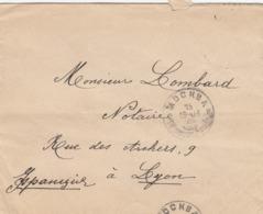 LETTRE. RUSSIE. 1915. MOSCOU POUR LYON    /  3 - Briefe U. Dokumente