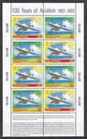 Filippine Philippines Philippinen Pilipinas 2003 Centenary Of The Aviation, Miniature Sheets Of Eight - MNH** - Filippine