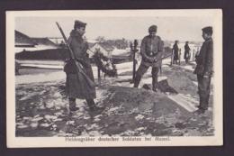 CPA Lituanie Lituania Circulé Lithuanie MEMEL Militaria - Litauen