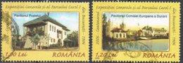 2006 - ROMANIA - CENTENARIO DELL'ESPOSIZIONE GENERALE / CENTENARY OF THE GENERAL EXHIBITION. USATO - 1948-.... Repúblicas