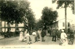 L' ALMA   =  Place De La Liberté   1036 - Andere Steden