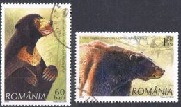 2008 - ROMANIA - ORSI / BEARS. USATO - 1948-.... Repúblicas