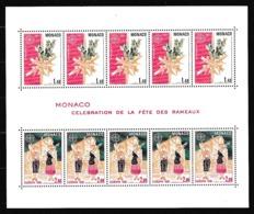 1981 Monaco EUROPA CEPT EUROPE Foglietto MNH**  Minisheet - 1981