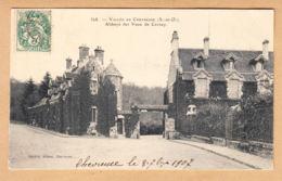 CPA Vaux De Cernay, Vallée De Chevreuse - Château De L'Abbaye De Cernay, Gel. 1907 - Vaux De Cernay