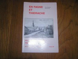 EN FAGNE ET THIERACHE N° 137 Régionalisme Commune Brûly De Pesche Exode Mai 40 Guerre 40 45 France Collège Chimay - België