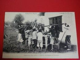 LAOS PREPARATION D UN BUFFLON A L INSTITUT VACCINOGENE DU TRANNINH - Laos