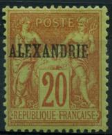 Alexandrie (1899) N 10 * (charniere) - Alessandria (1899-1931)