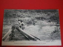 LAOS COMMENT ON VOYAGE AU LAOS DANS LES RAPIDES DE GALETS A LA MONTEE - Laos