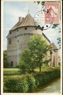48887 Danmark, Maximum  1957  The Castle  Chateau  Schloss  Of Nyborg - Cartoline Maximum