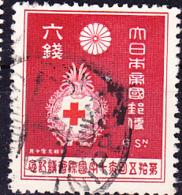 Japan - Rotes Kreuz (MiNr: 211) 1934 - Gest Used Obl - 1926-89 Emperor Hirohito (Showa Era)