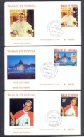 Wallis And Futuna 1979 - Paul IV Jean Paul I - 3 FDCs - Excellent Quality - Covers & Documents