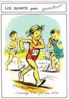 4422 CPM Illustrateur Germaine Bouret : Les  Sports - Bouret, Germaine