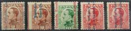 España 593/8 ** - 1931-50 Nuevos & Fijasellos