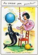 4426 CPM Illustrateur Germaine Bouret : Au Cirque - Bouret, Germaine