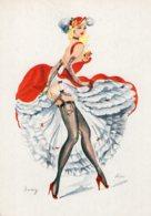 4446 Cpsm Illustrateur ALICE -  French Can - Can - Dany - Künstlerkarten